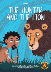 Picture of The Hunter and the Lion (English ), by M Beharilal & T Wallace (MBLS Publishing 2020)