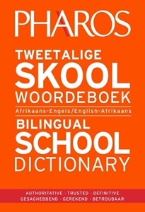 Picture of Pharos Tweetalige Skoolwoordeboek | Bilingual School Dictionary (Afrikaans-Engels/ English-Afrikaans) 2020 Edition (Pharos/NB Publishers 2021)