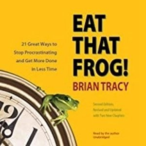 Picture of Eat That Frog!: 21 Great Ways to Stop Procrastinating and Get More Done in Less Time (Audio Book on CD)