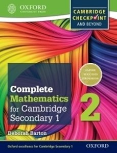 Picture of Complete Mathematics for Cambridge Secondary 1 Student Book 2 (OUP International)