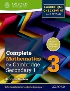 Picture of Complete Mathematics for Cambridge Secondary 1 Student Book 3 (OUP International)