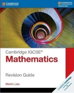 Picture of Cambridge IGCSE Mathematics Revision Guide (Cambridge CIE)