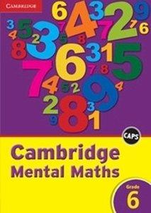 Picture of Cambridge Mental Maths Grade 6 CAPS (Cambridge University Press)