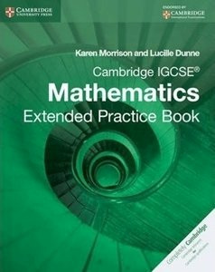 Picture of Cambridge IGCSE Mathematics Extended Practice Book (Cambridge CIE)