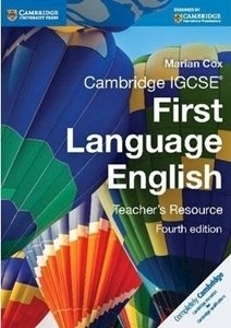 Picture of Cambridge IGCSE First Language English Teacher Resource Book (Cambridge CIE)