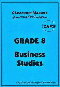 Picture of Classroom Masters Grade 8 Business Studies CAPS, by Classroom Masters