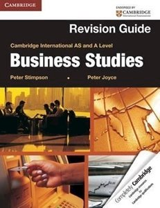 Picture of Cambridge International AS and A Level Business Studies Revision Guide, by Joyce, Peter
