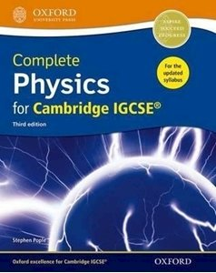 Picture of Complete Physics for Cambridge IGCSE Student Book 3rd Edition, by Pople, Stephen